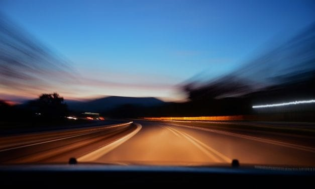 Night Driving by Jesse Thompson